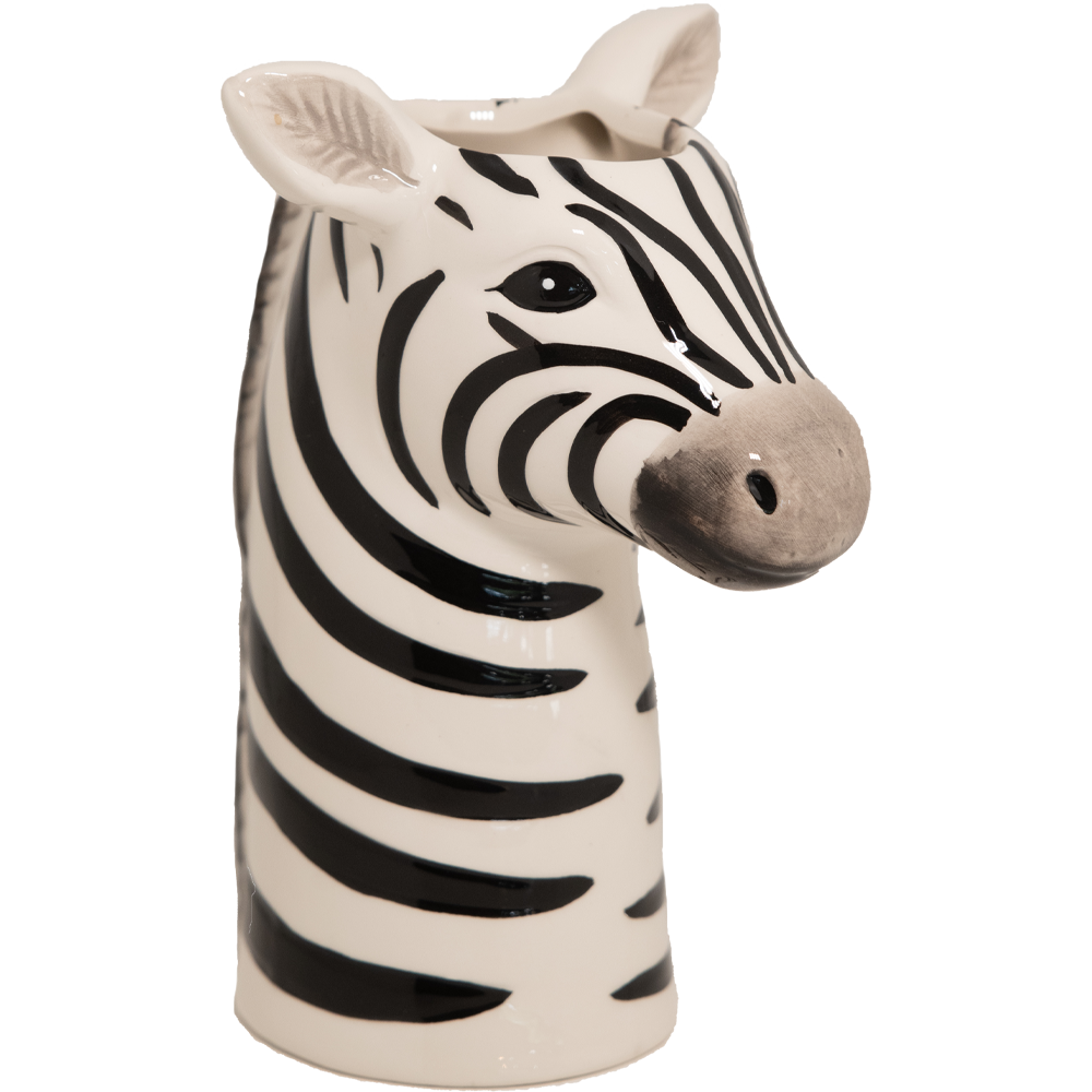 It's a Zebra! Head Vase