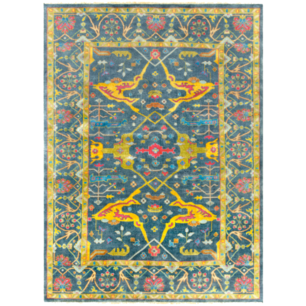 Dwell Chic-Bright Antique Inspired Rug-rug