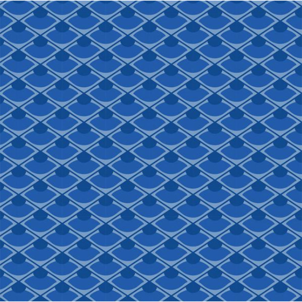 Blue Asian Inspired Peel & Stick Wallpaper