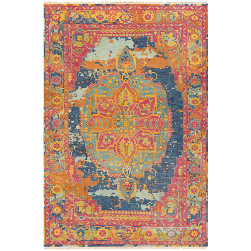 Dwell Chic-Colorful Festival Rug-Rug Sample