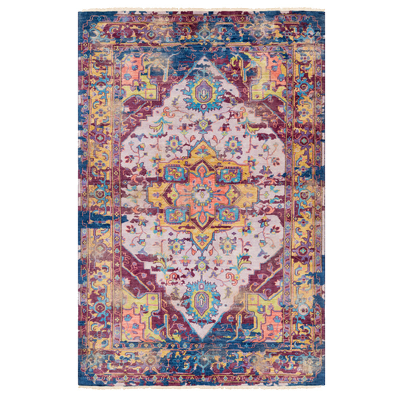 Multi-Colored Indian Inspired Rug