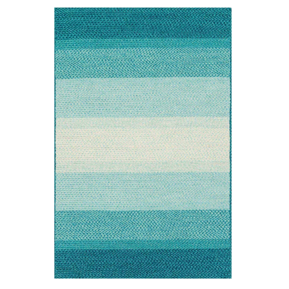 Hand Braided Blue Indoor/Outdoor Rug