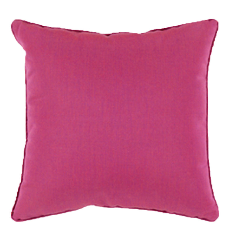 Bright Pink Outdoor Pillow