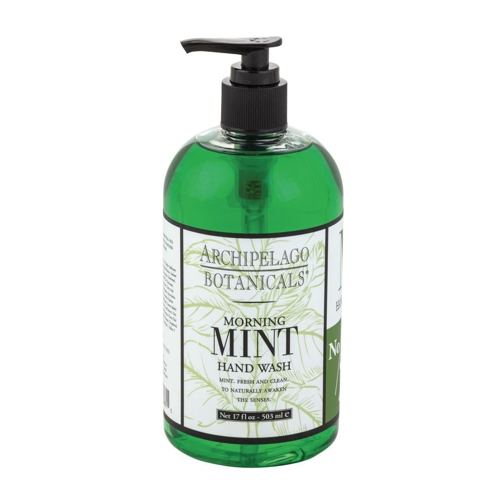 MORNING MINT 17OZ HAND WASH-Bath and Body-Dwell Chic