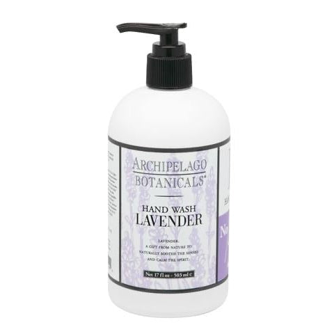 LAVENDER 17OZ HAND WASH-Bath and Body-Dwell Chic