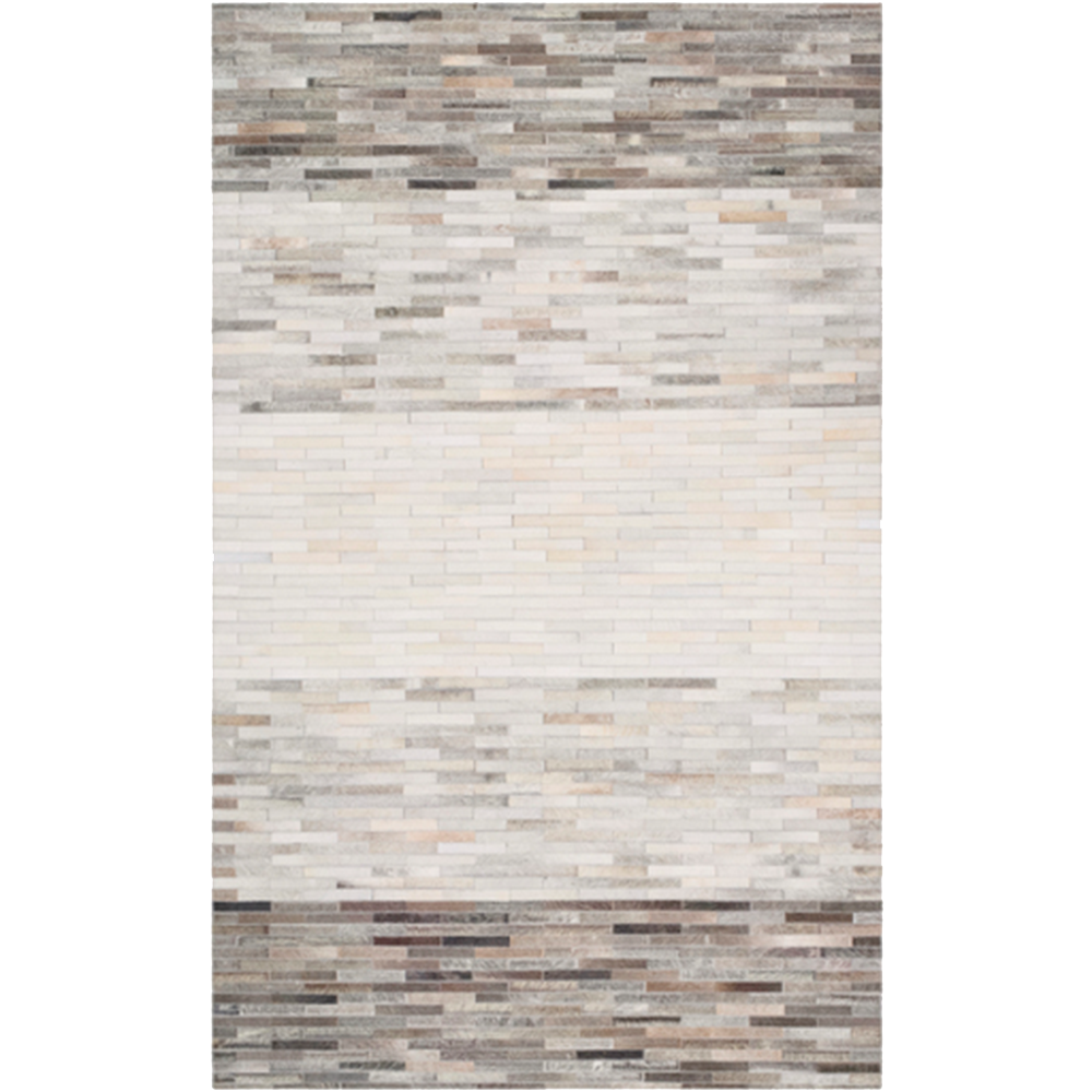 Dwell Chic-Geometric Hide Rug-rug