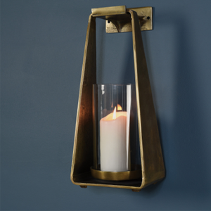 Dwell Chic-Just Hanging Around Pillar Sconce-Candle Holder