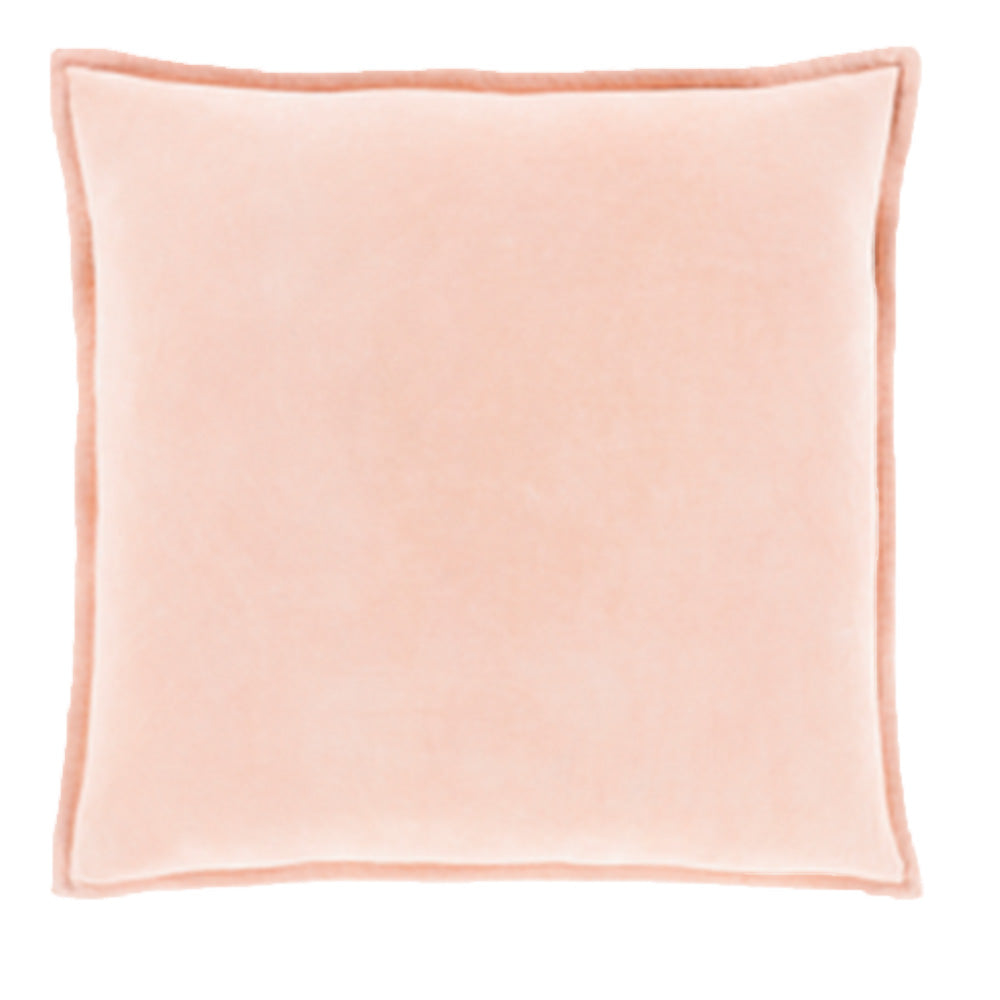 Peach Velvet Pillow