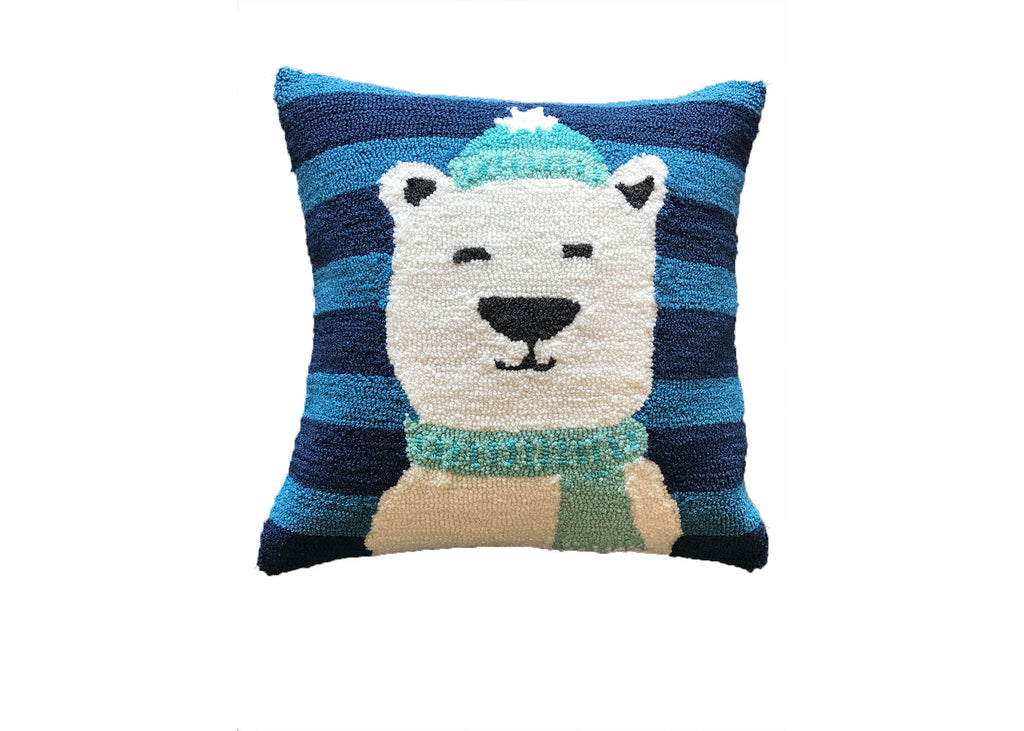 Polar Bear Pillow Cover (insert not included)