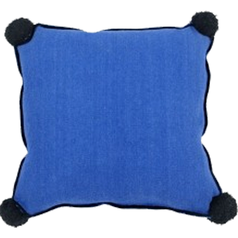 Dwell Chic-Washable Sapphire Blue Pillow-Pillow