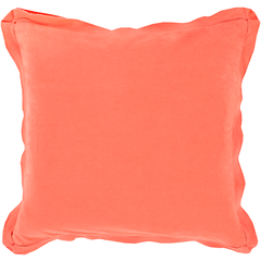 Tangerine Pillow Cover (insert not included)