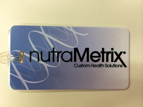 nutraMetrix® Luggage Tag