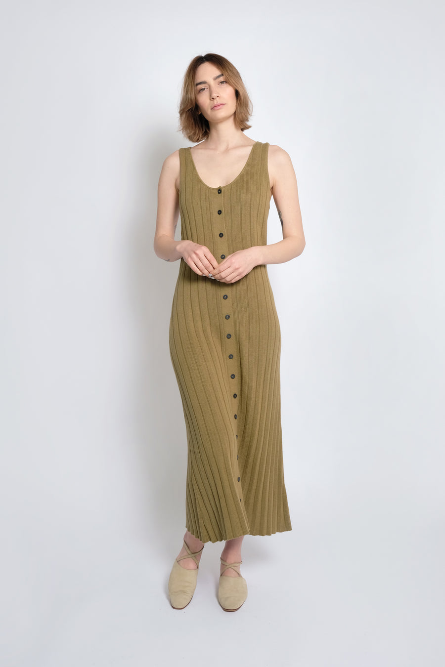 Juniper Accordion Pleated Dress