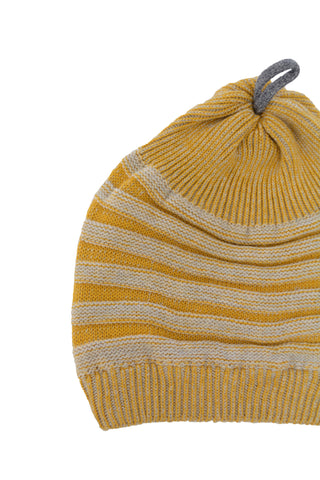 Gold Accordian Hat