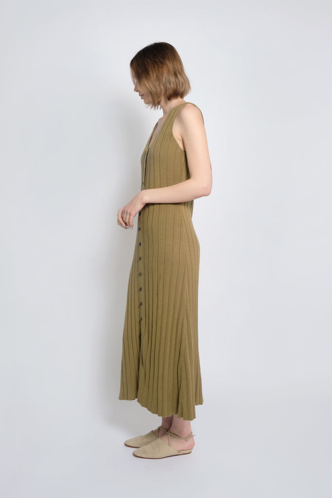 Juniper Accordion Pleat Dress