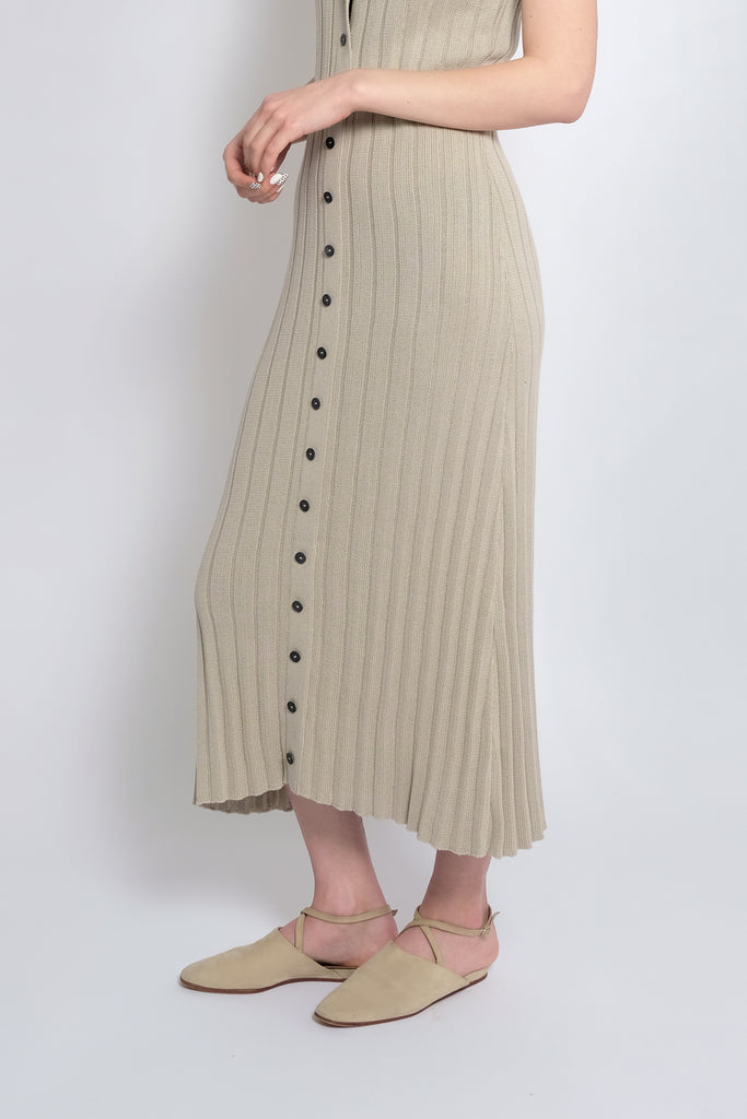 Sea Salt Accordion Pleat Dress