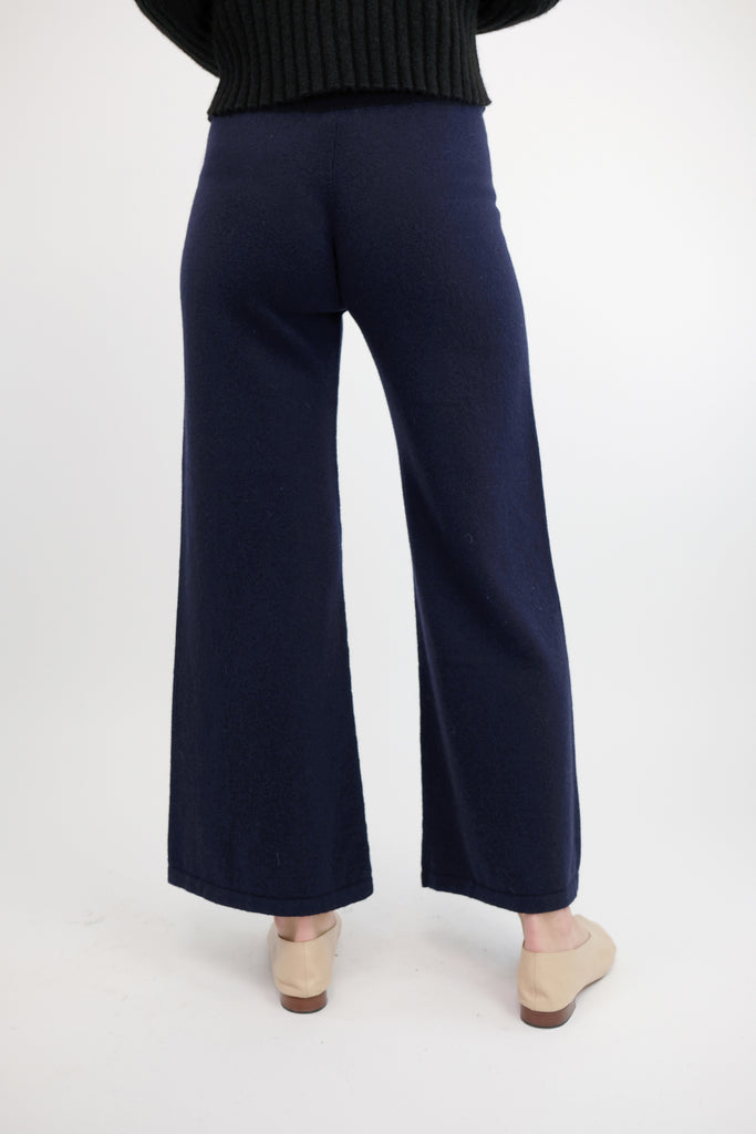 Midnight Blue A-Line Pant
