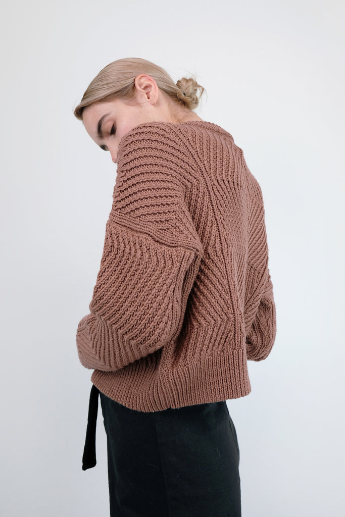 Copper Bevel Sweater