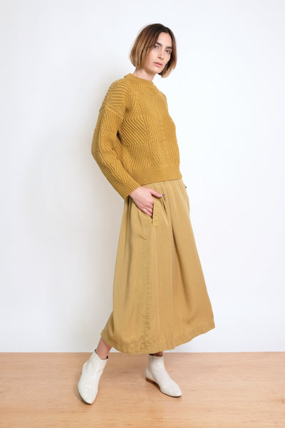 Ochre Bevel Sweater