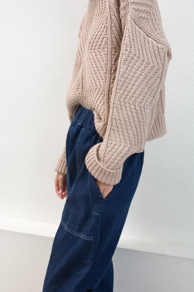 Blush Bevel Sweater