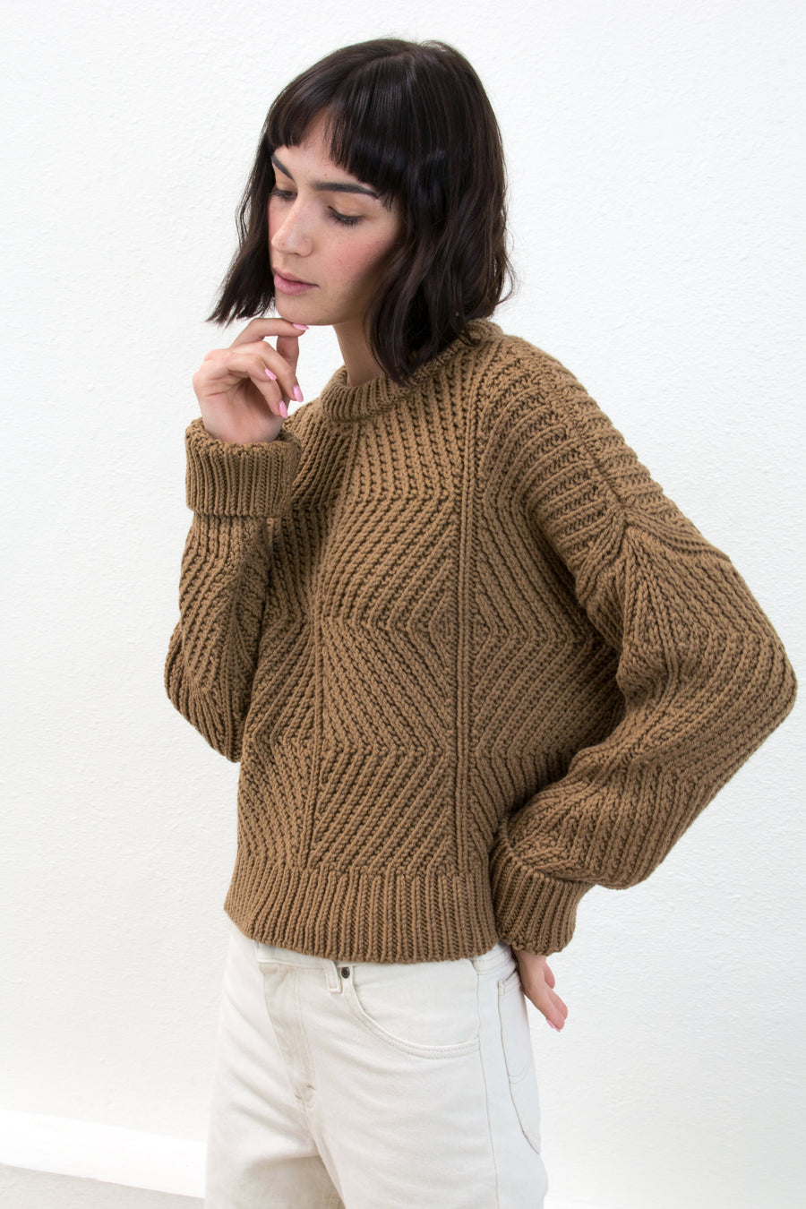 Caramel Bevel Sweater