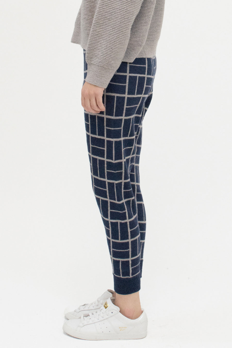 Midnight Blue Block Sweatpant