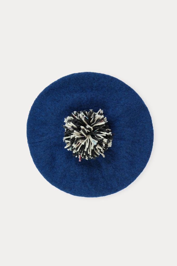 Royal Blue Kids Beret