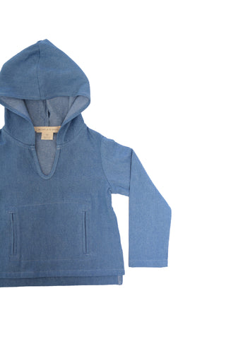 Chambray Hoodie