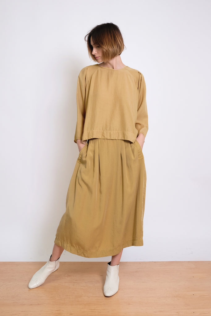 Ochre Claude Top
