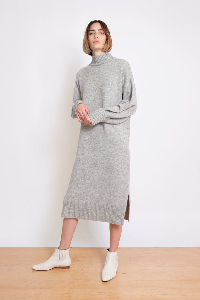 Heather Grey Gia Sweater Dress