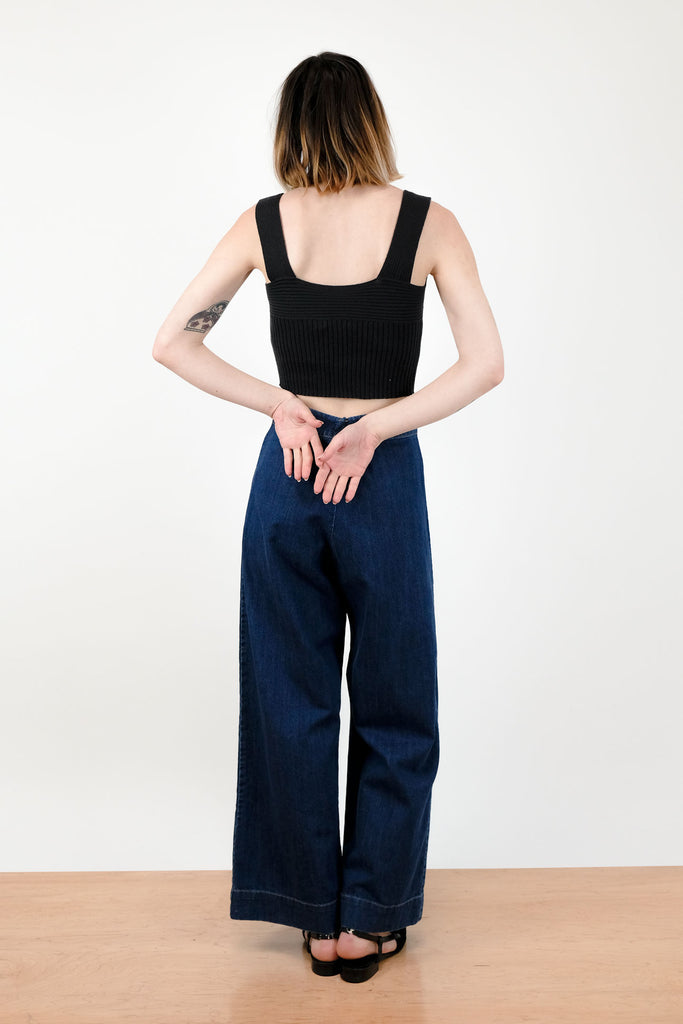 True Indigo Knotted Sailor Pant