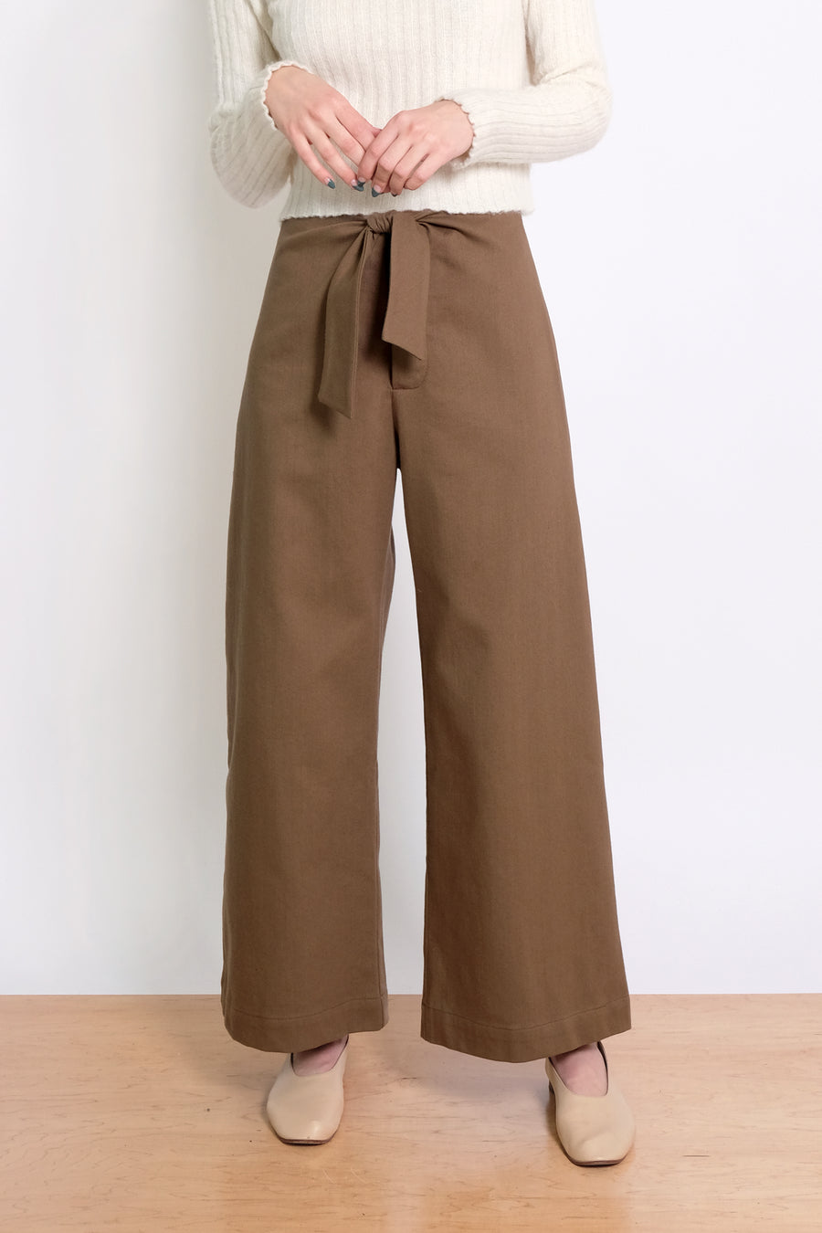 Twig Knotted Sailor Pant