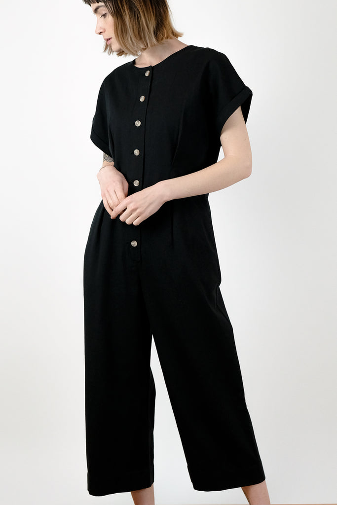 Faded Black Les Jumpsuit