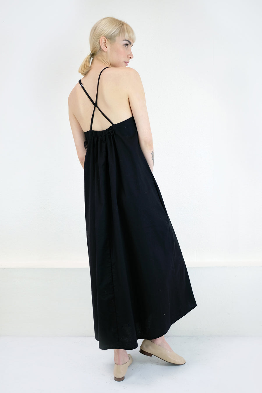 Black Loop Dress