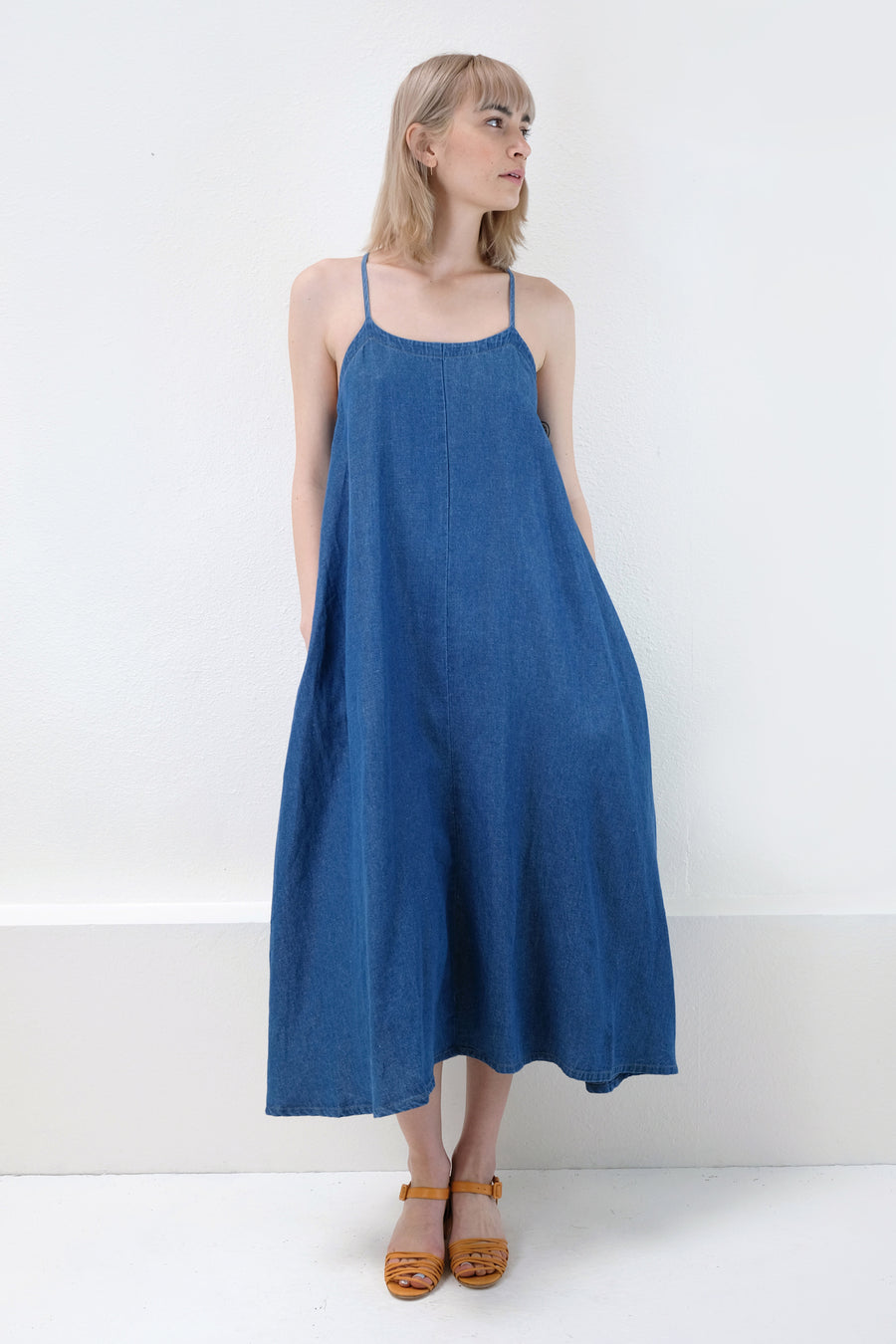 Sun Fade Wash Loop Dress