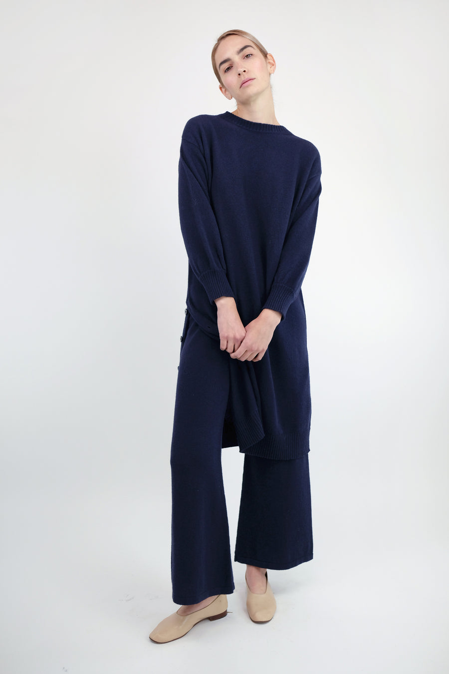 Mignight Blue Lou Sweater Dress