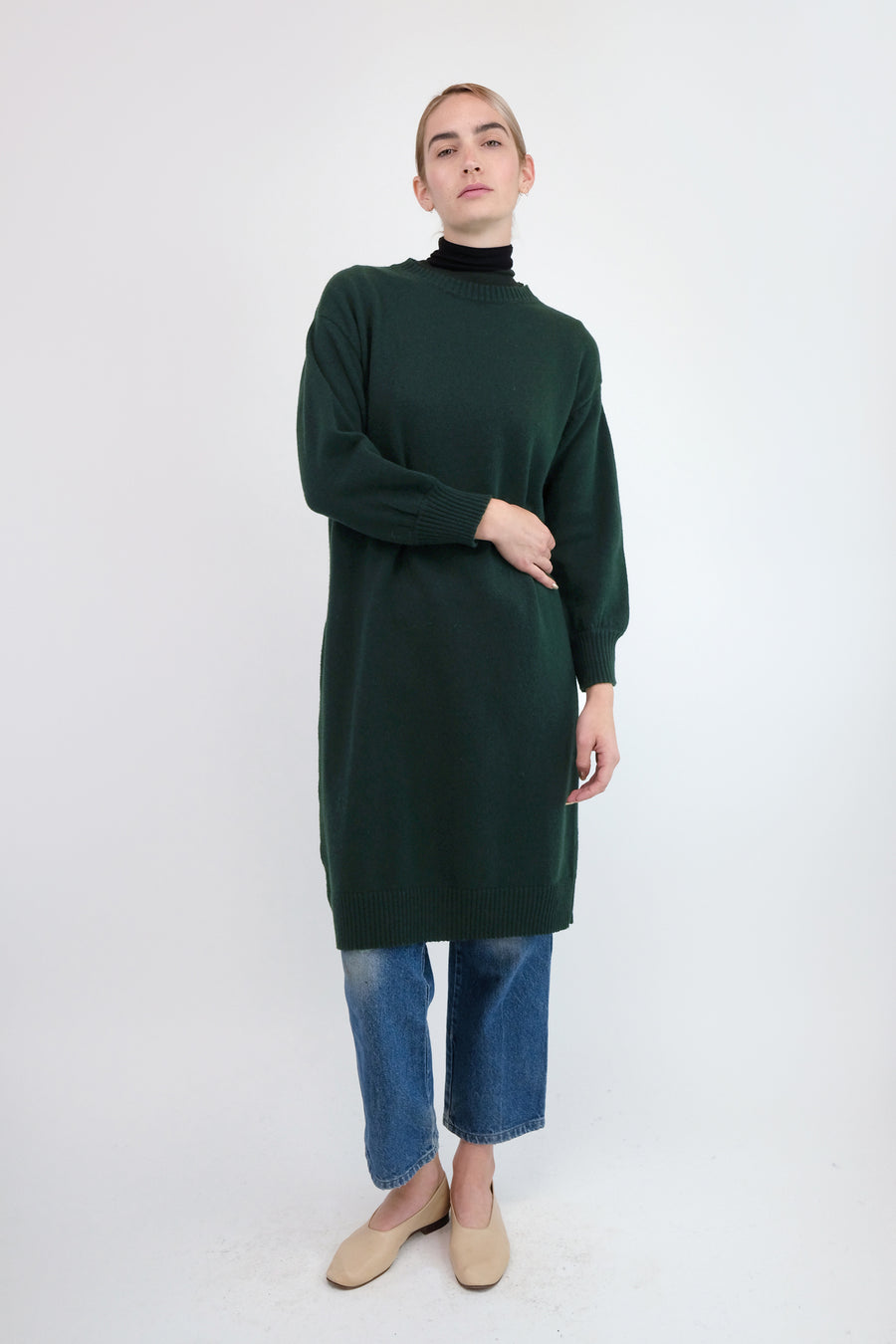 Forest Lou Sweater Dress