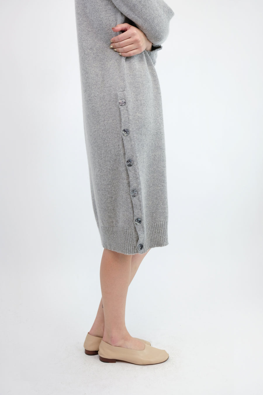 Cloud Grey Lou Sweater Dress