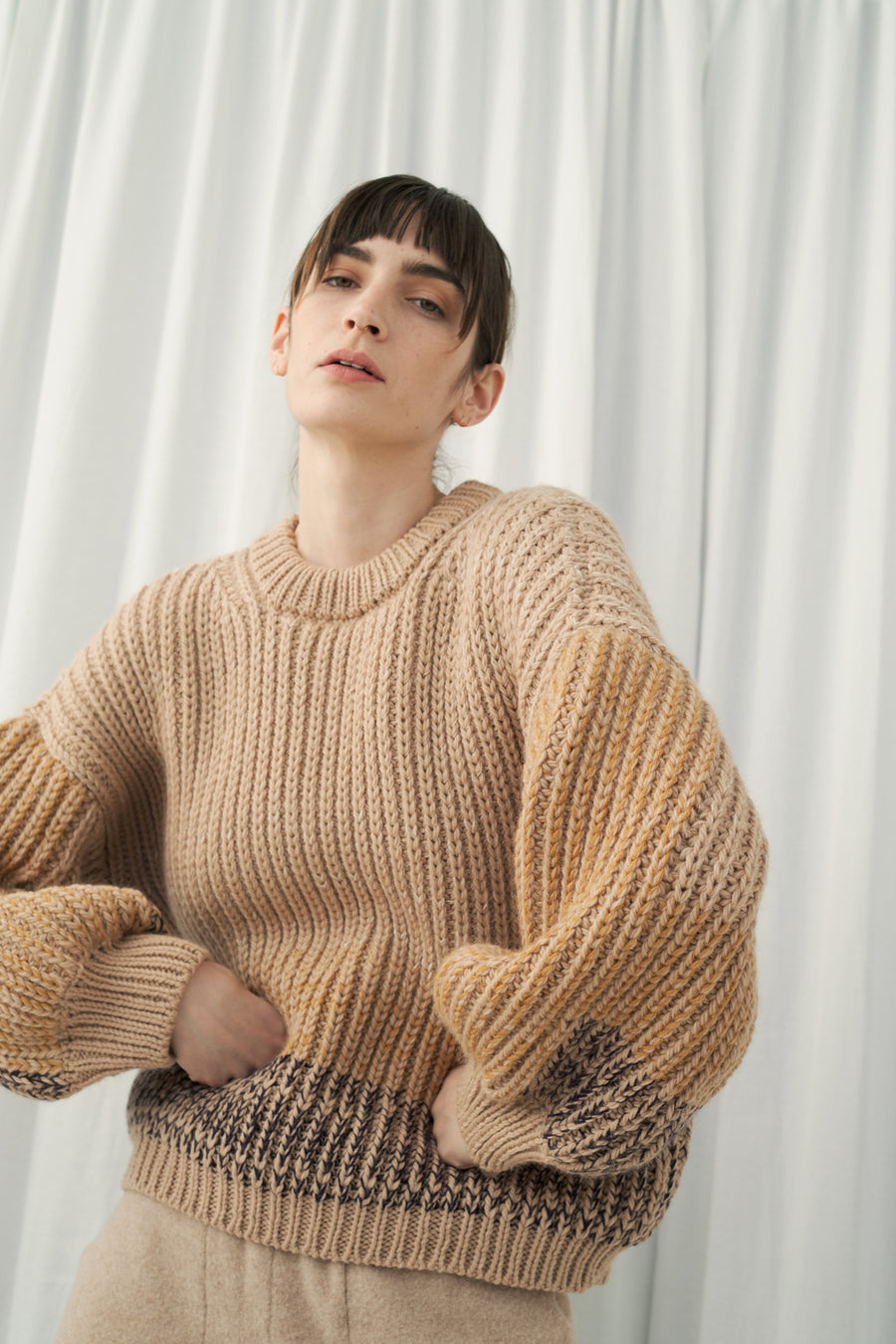 Flax Ombre Sweater
