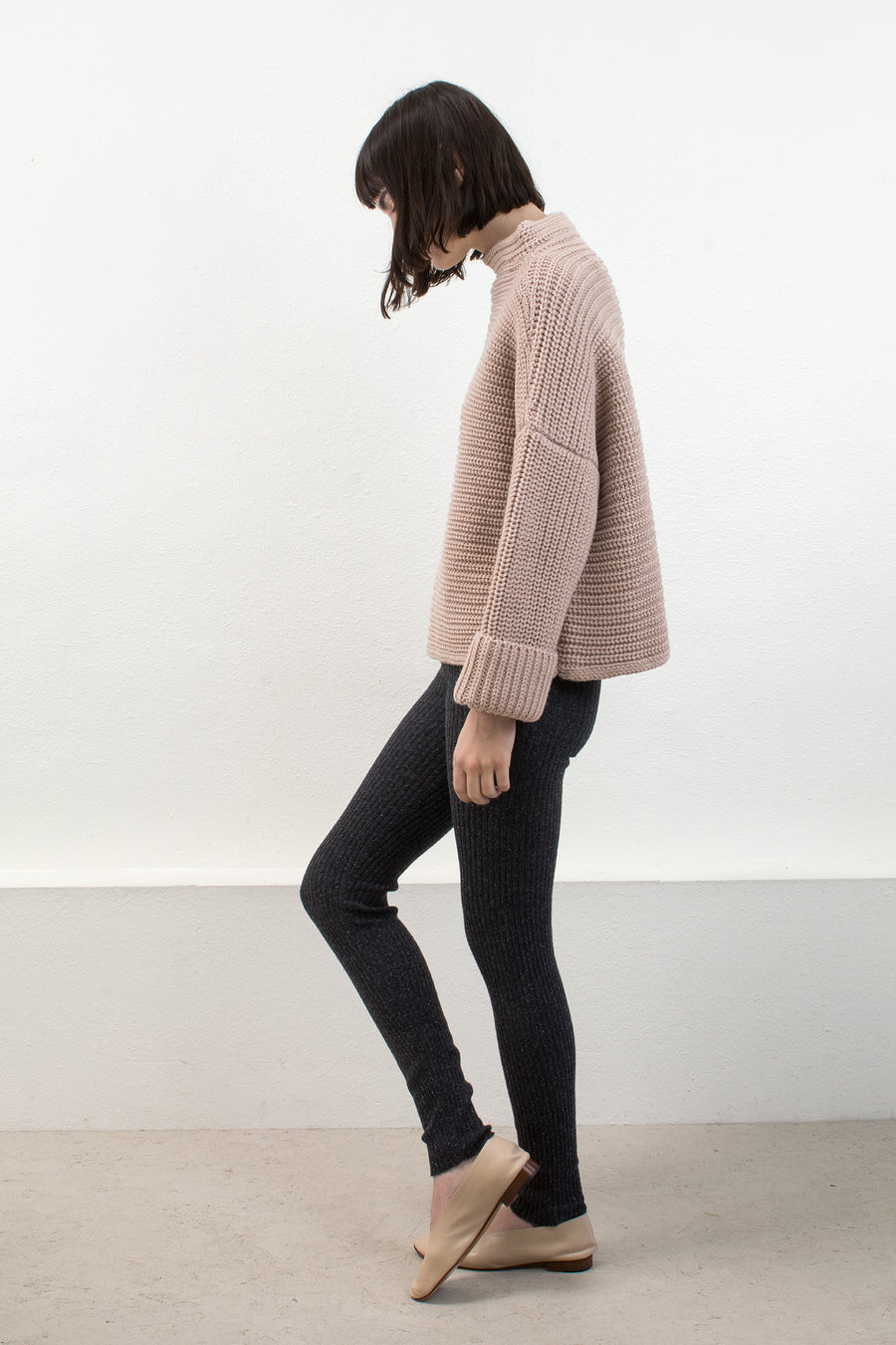 Blush Parallel Sweater