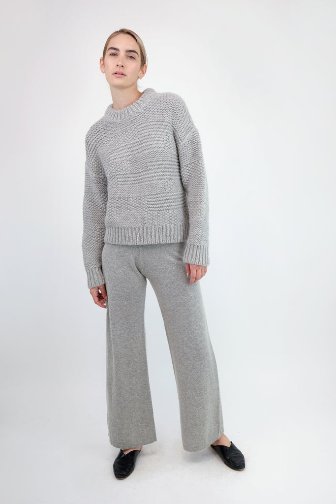 Cloud Grey A-Line Pant