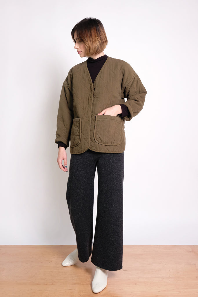 Java Diamond Quilted Jacket