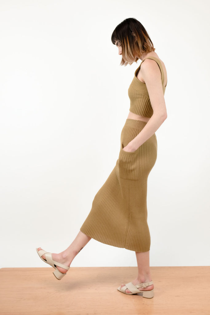 Bronze Rae Rib Skirt