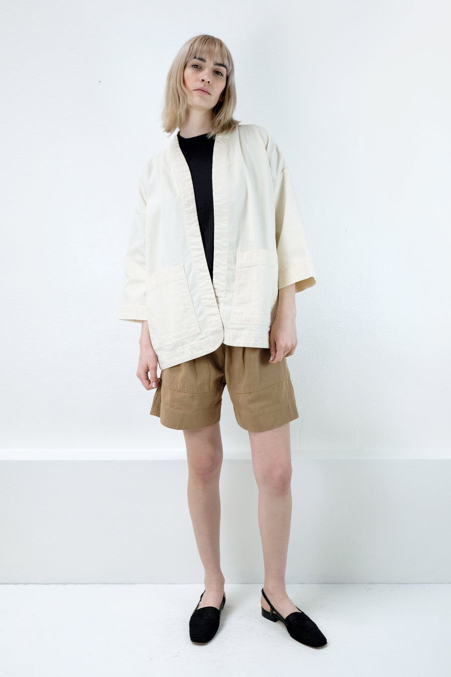 Cream Sac Jacket