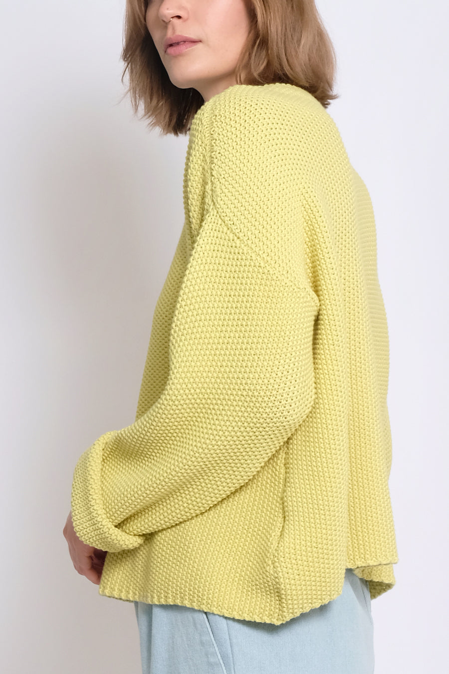 Lime Seed Sweater