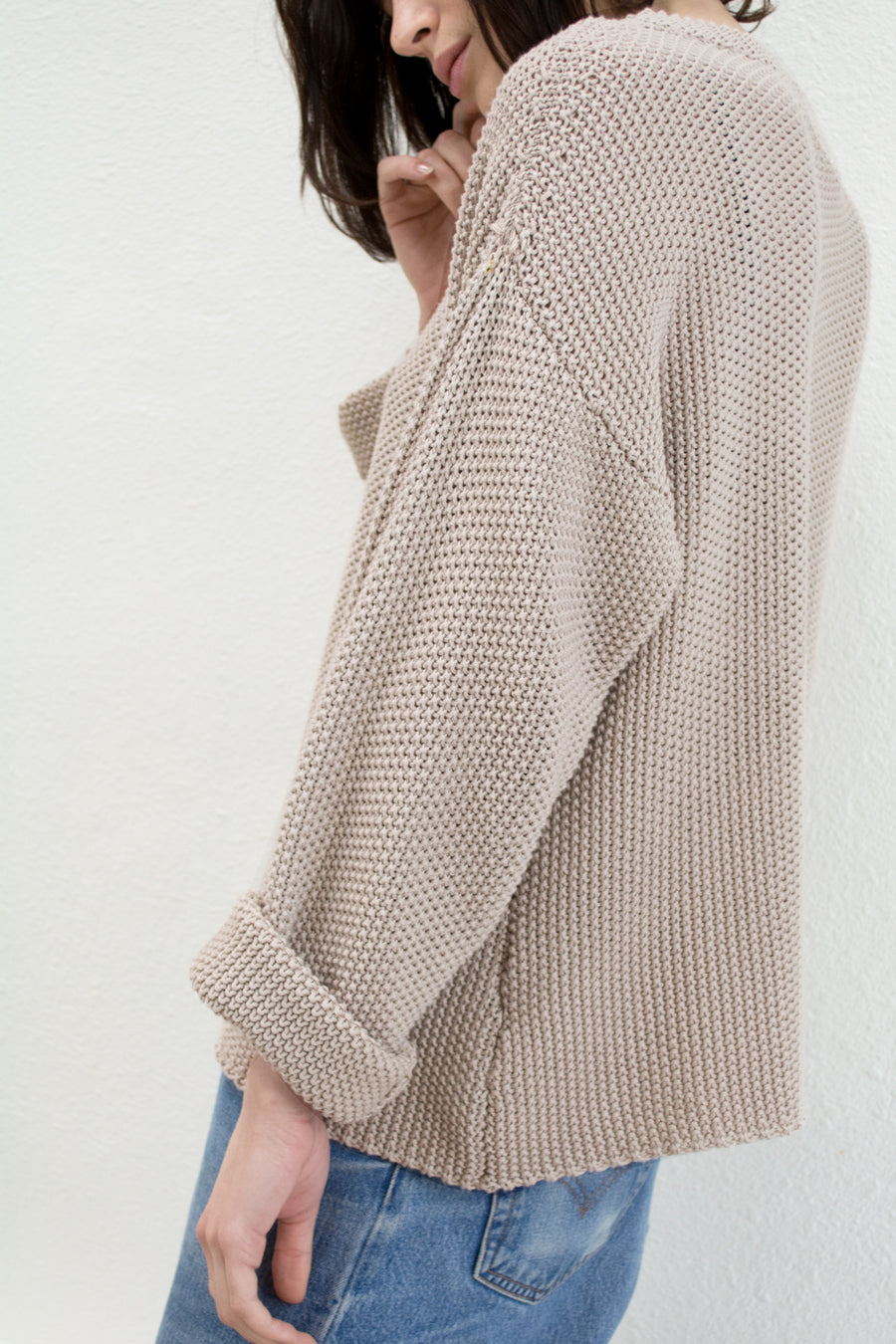Oat Seed Sweater