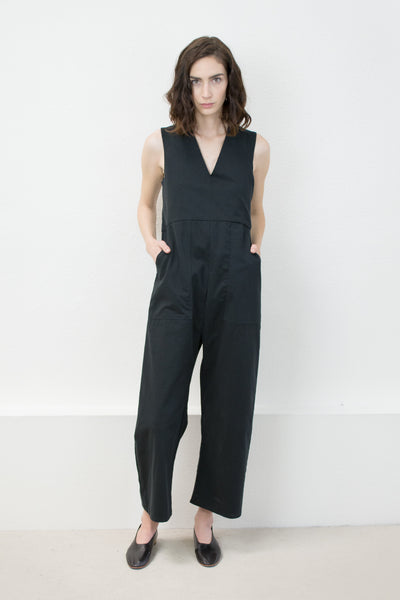 Black Utility Jumpsuit