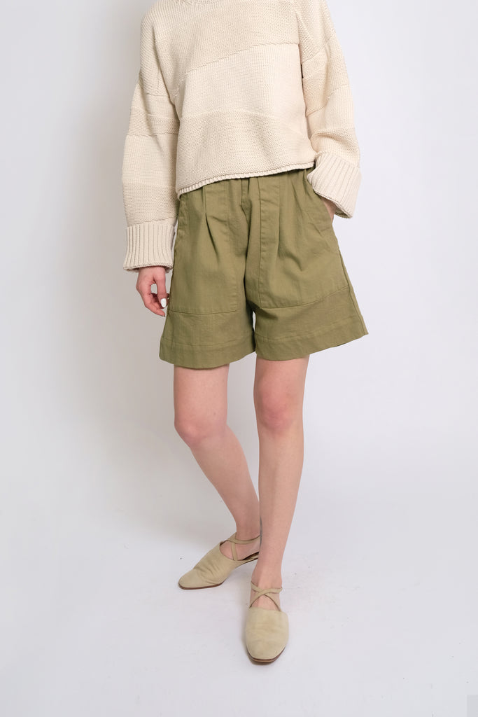 Green Tea Utility Short