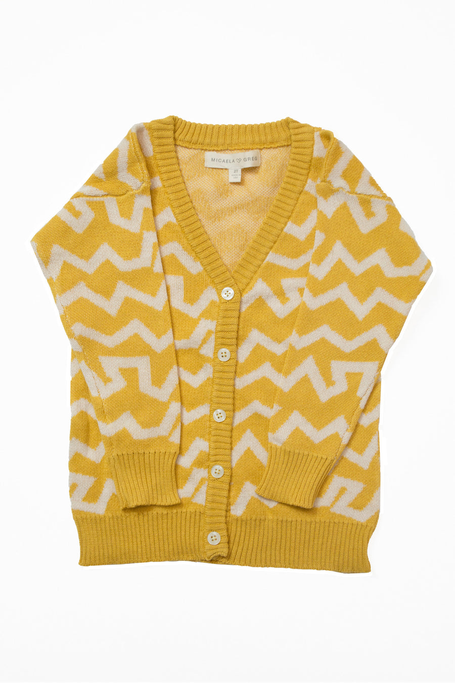 Yellow Wiggle Cardigan