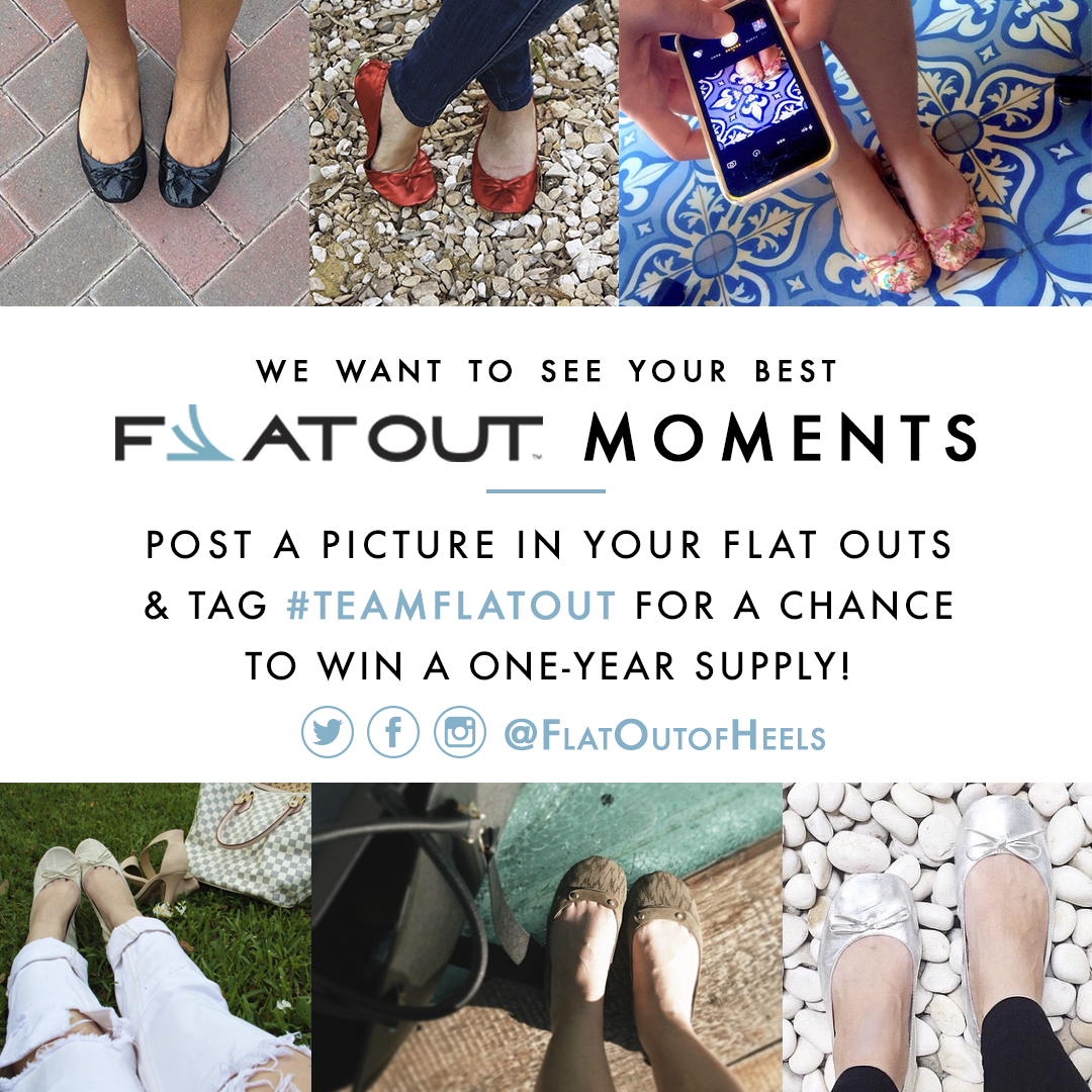 Show Us Your Flat Out Moments and WIN!